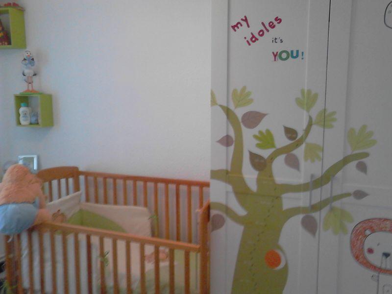 Decorar la habitación de un bebé por pocos euros
