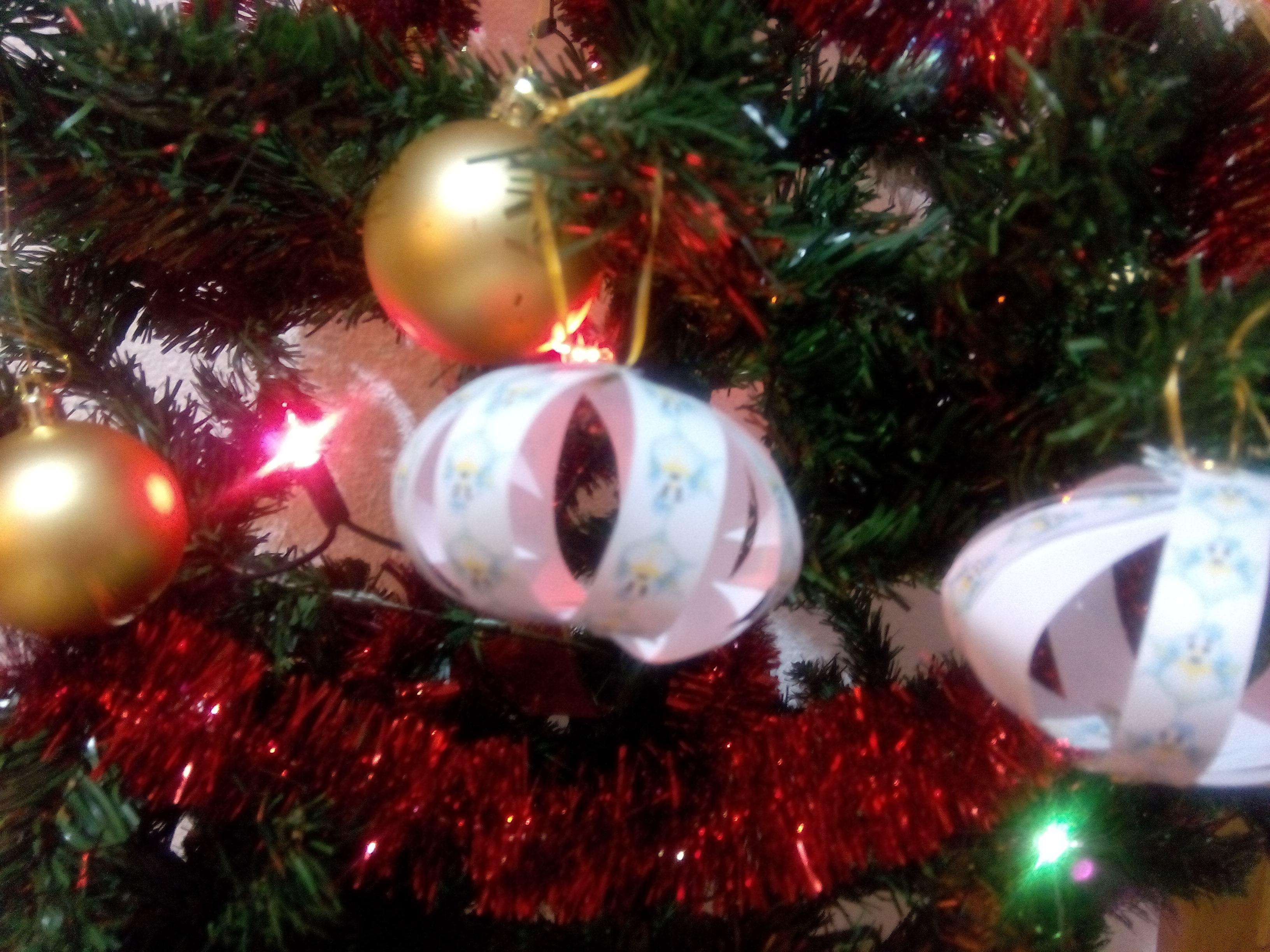 DYI Decoración Navidad: adornos de papel