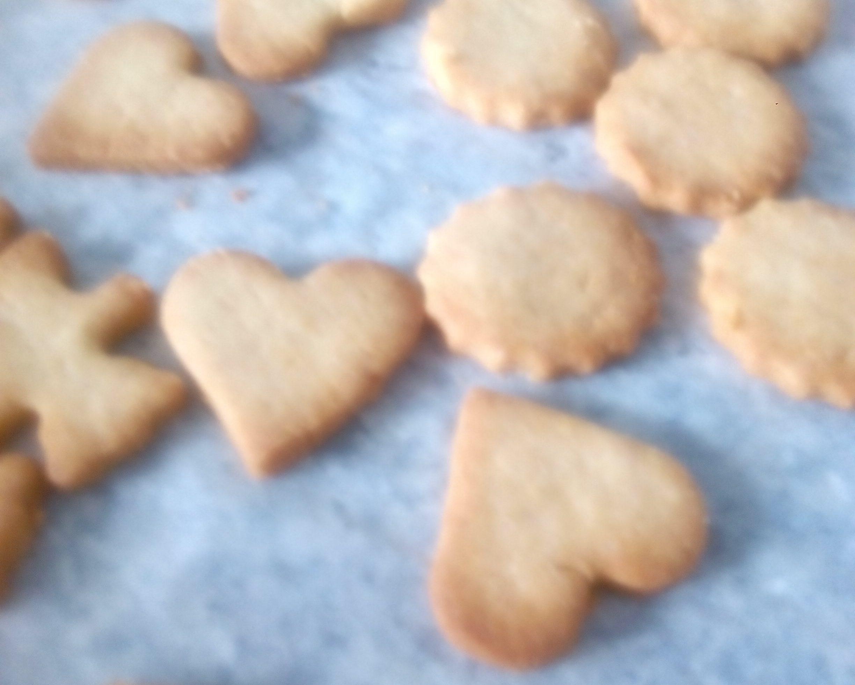 Galletas sin gluten de mantequilla y canela