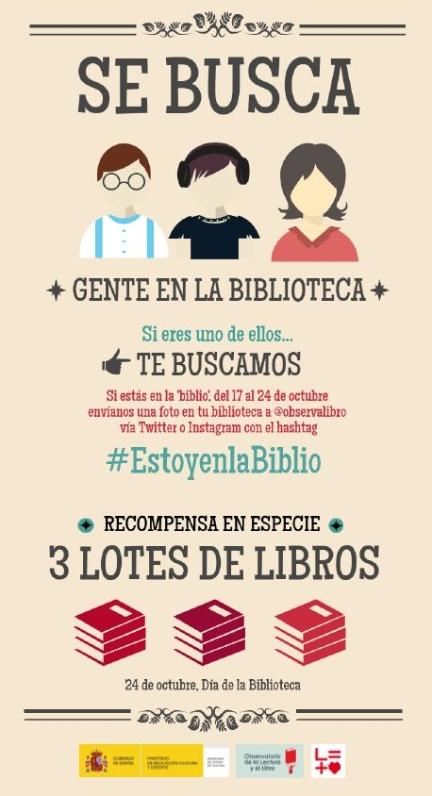 Celebra #EstoyenlaBiblio
