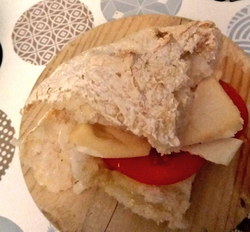 Receta de hogaza de pan